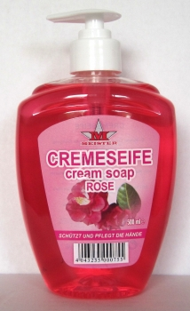 Meister Cremeseife Duft Rose 500ml