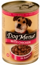 Hundefutter mit Huhn in Sauce 415g