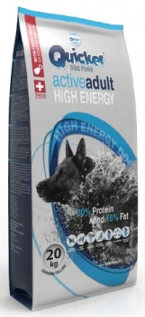 Quicker Active Adult High Energy Hundefutter 20kg